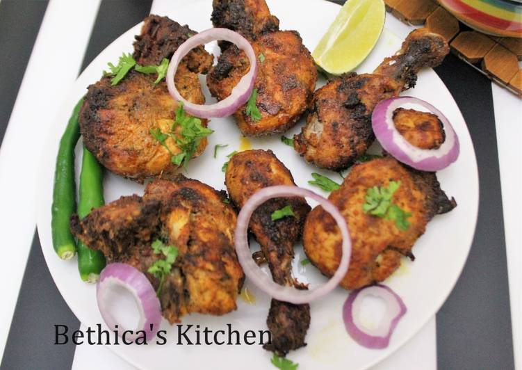 Steps to Make Ultimate Chettinad Flavoured Grilled Chicken