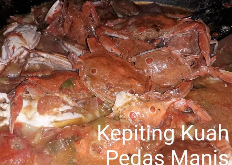 Kepiting Kuah Pedas Manis