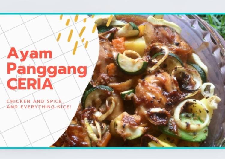 Ayam panggang ceria - cookandrecipe.com