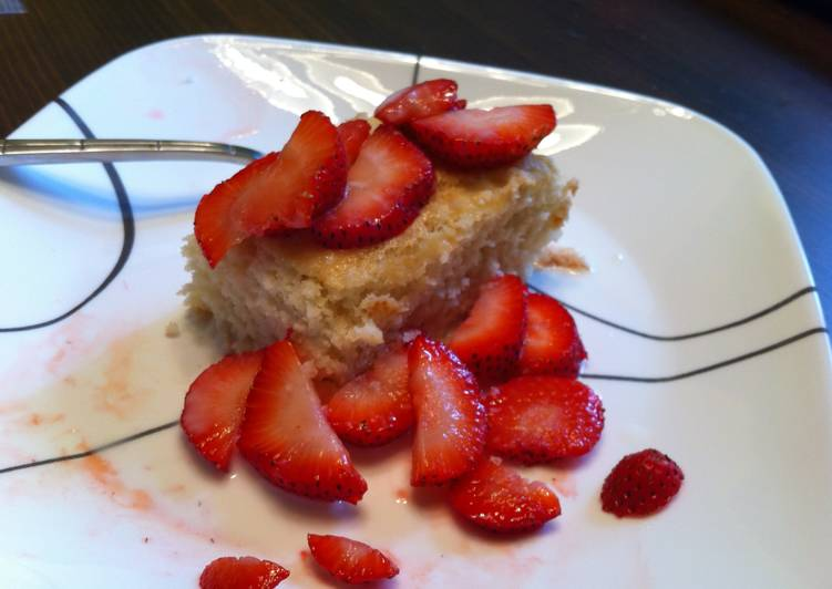 Steps to Prepare Award-winning Strawberry Shortcake