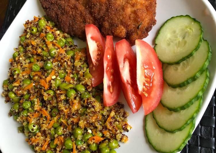 Steps to Prepare Homemade Vegetable quinoa
