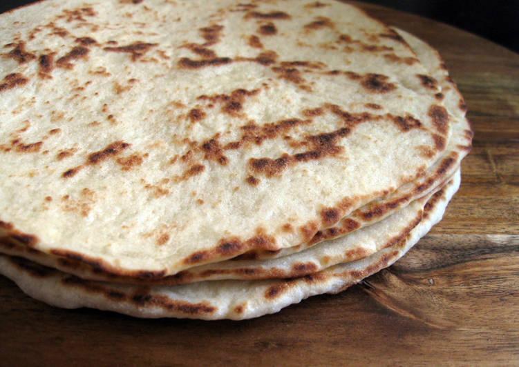 Greek Flat Bread for Souvlaki & Dips