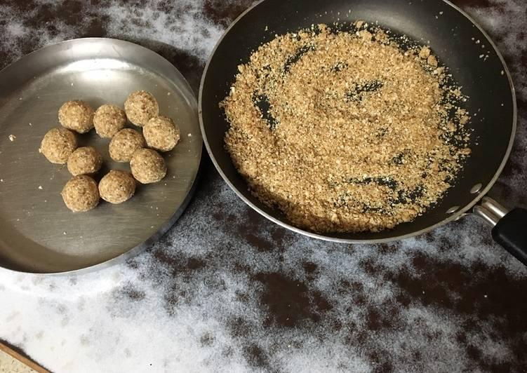 Healthy oats ladoo