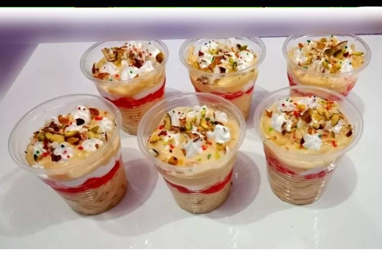 Scrumptious trifle 😋