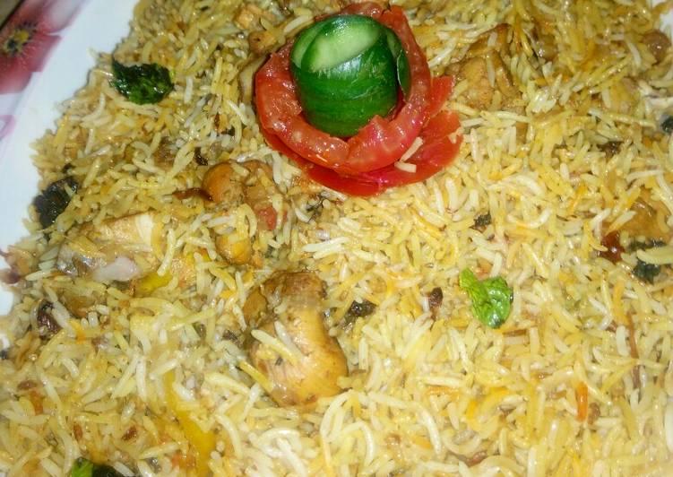 Chicken Teh Wali Biryani