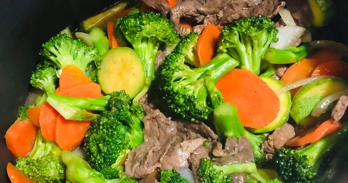 receta de brocoli con pollo chino