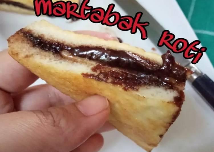 Martabak Roti Coklat Keju