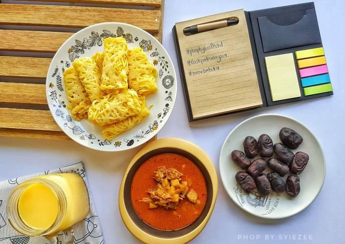 Roti Jala dan Kari Ayam #phopbylinimohd