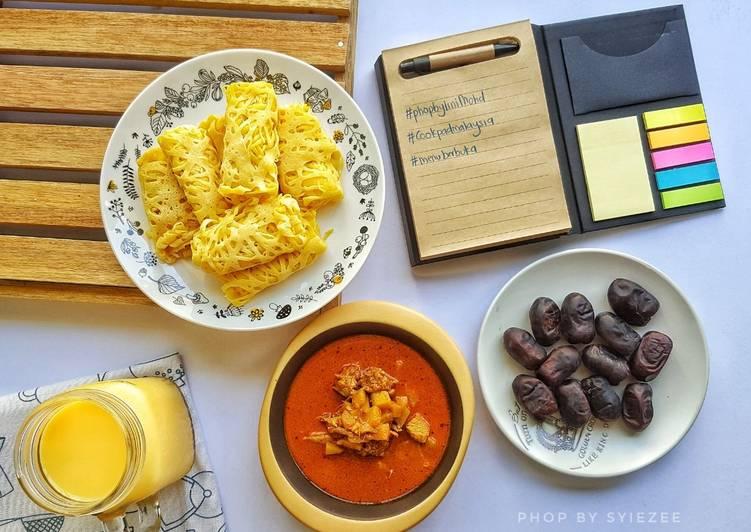 Roti Jala dan Kari Ayam #phopbylinimohd - velavinkabakery.com