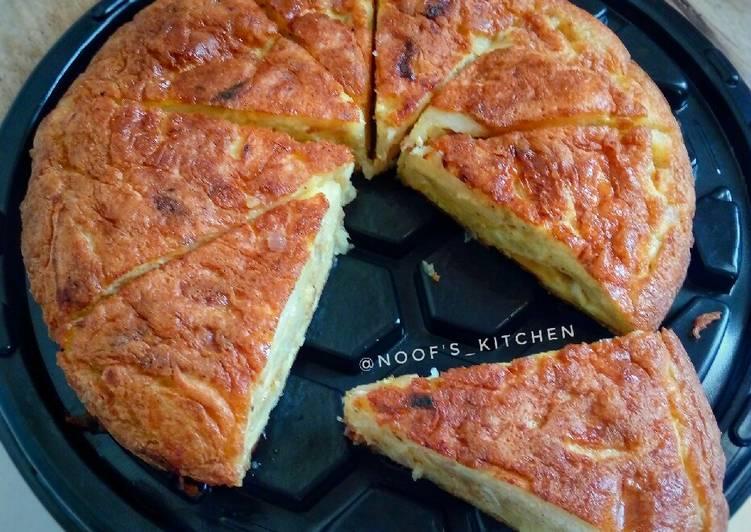 Resep Spanish Omelette / Telur Dadar Spanyol (Tortilla De Patatas) Paling dicari