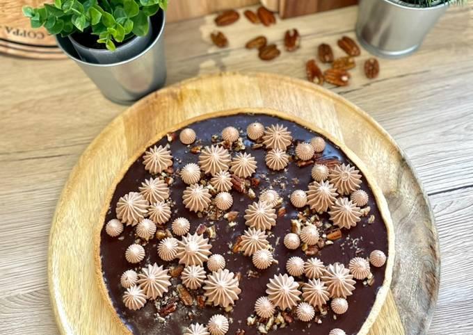 🍫 Tarte au chocolats 🍫 et Noix de pécan