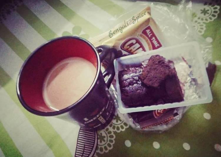 Tandoori Chai/ Extremely Hot Clay Pot Tea (Indian street food) ☕
