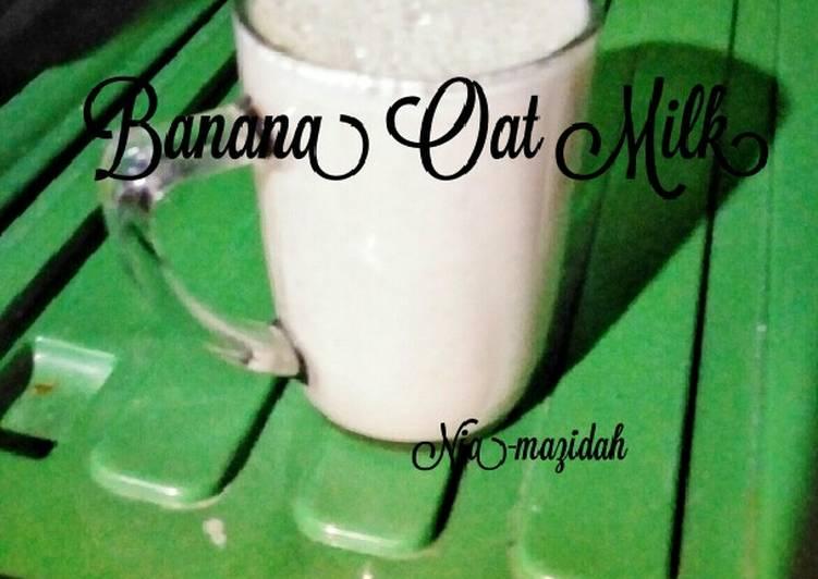 Banana Oat Milk
