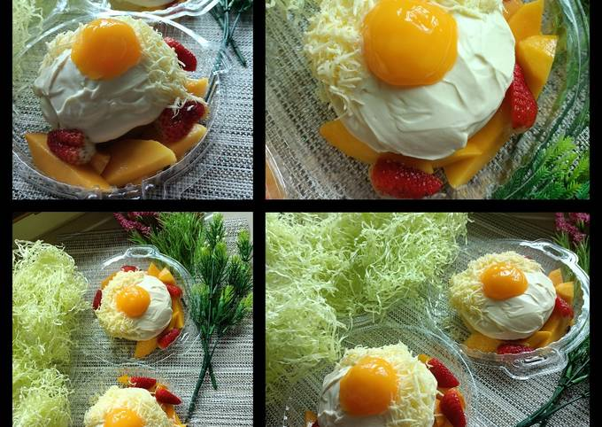 Kek Cheese Telur Mata