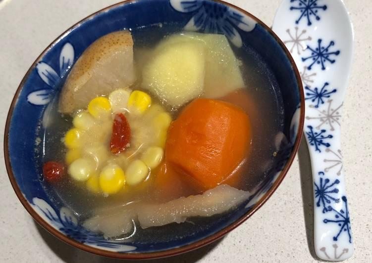 Sup buah pir (herbal)