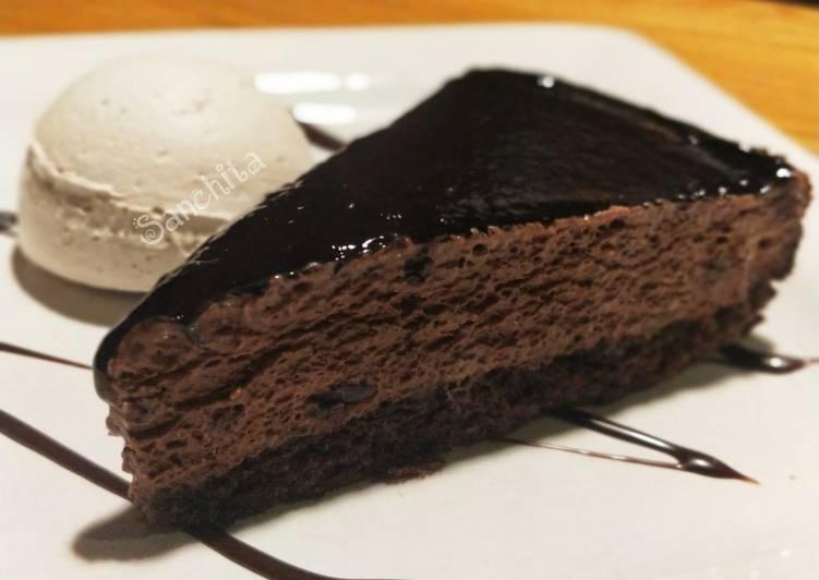 Chocolate Fudge Brownie with Vanilla Ice cream and chocolate sauce