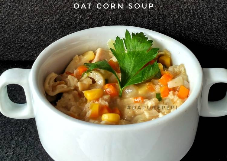 Oat Corn Soup 🥣