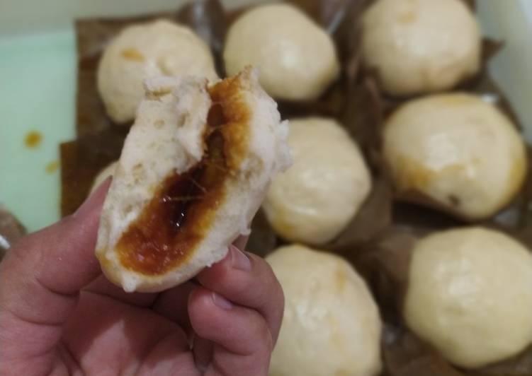 Resep Bapao mini isi gula jawa & coklat Paling Enak