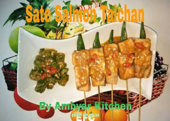 Resep Sate Salmon Taichan Ambyar 😃 Anti Gagal