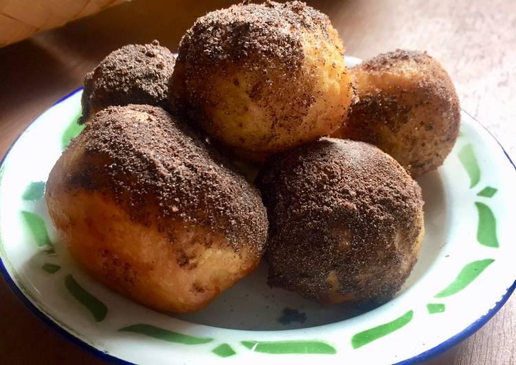 Roti Goreng Tabur Bubuk Coklat 🥯