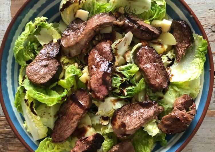 Comment Préparer Des Salade aux magrets de canard