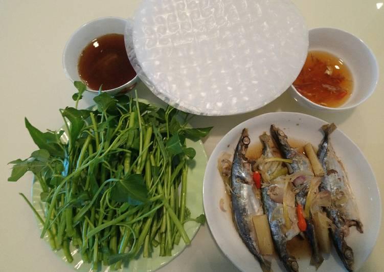 Image result for cá nục hấp