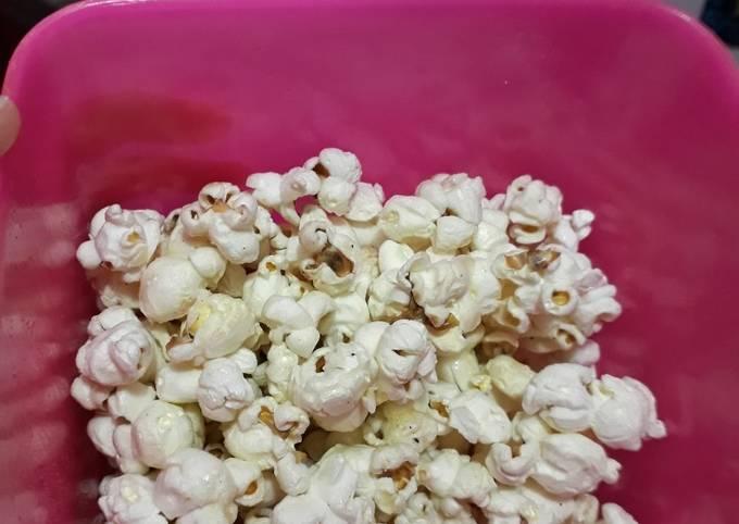 Popcorn caramel tanpa margarin
