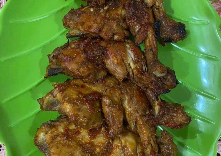 Ayam bakar bumbu kecap