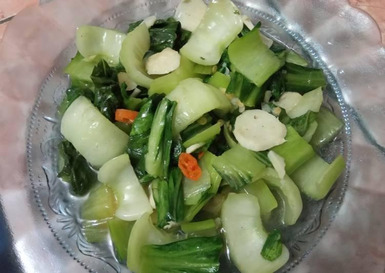 Tumis Pok Choy