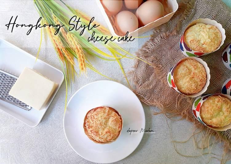 BOLU HONGKONG [Hongkong Style Cheese Cake]