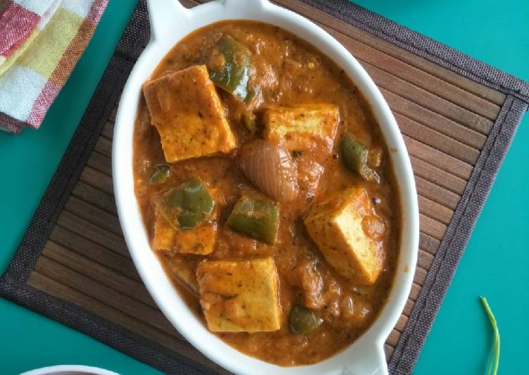 Paneer Chatpata (Delicious Cottage Cheese Curry Vegetable)