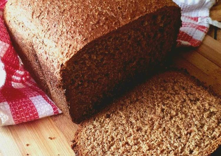 Easiest Way to Prepare Quick Nutty wheat bread loaf