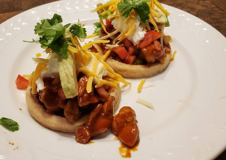 Recipe of Quick Brad's sopes