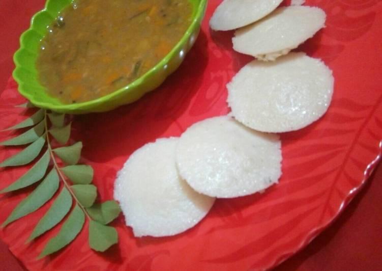 Steps to Prepare Favorite Idli sambar