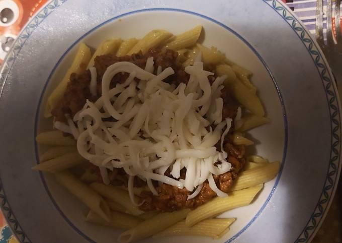 Receptek Gluténmentes Bolognai penne