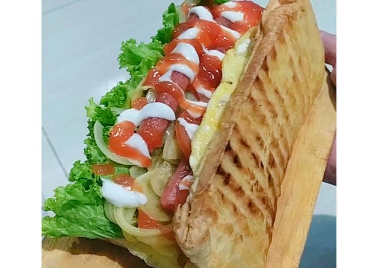 Cara Gampang Menyiapkan Sandwich Sosis Roti Tawar Anti Gagal New X Theme
