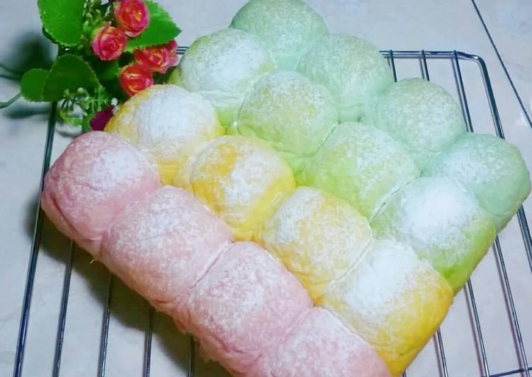 Japanese Milk Bread, Roti Kasur Jepang, Tanpa Telur