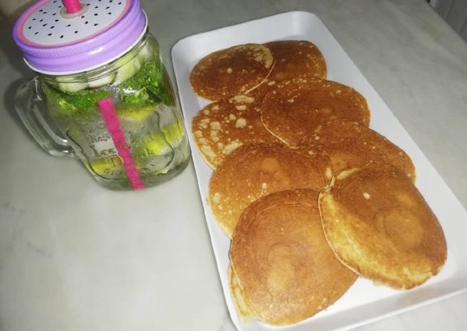 Galette d'avoine(pancakes healthy)
