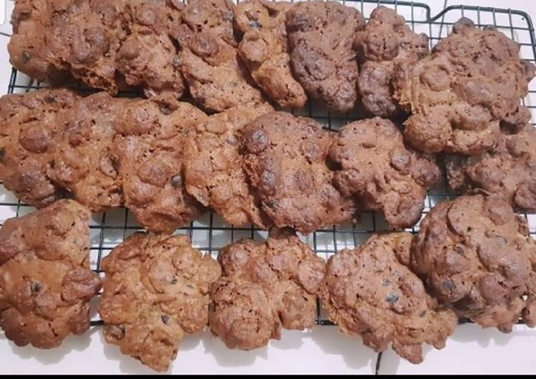Cookies Giant Choco Crunch ala JTT