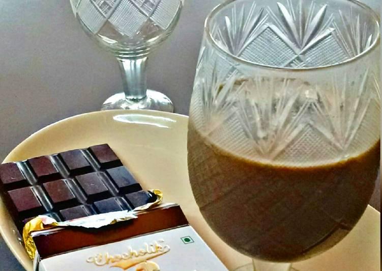 Recipe of Ultimate Dark Chocolate Shake
