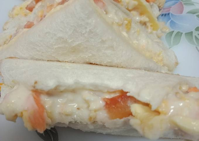 Sandwich Telur Cheese