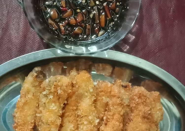 Stik ikan marlin sambal kecap