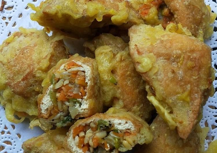 Resep Yummy Tahu brontak/ berontak / tahu isi sayur - Resep Enak Untuk  Berbagi