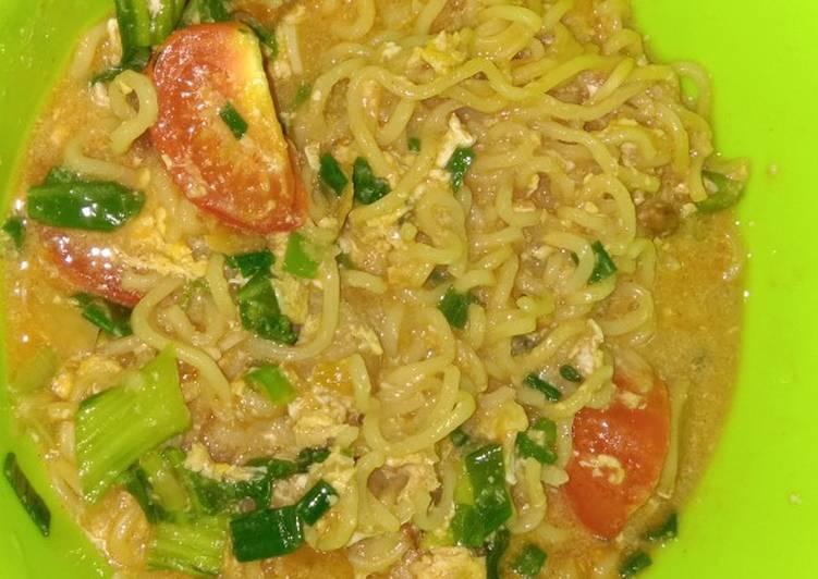 Resep Mie Get Kuah Oleh Siti Achda Pasha Cookpad