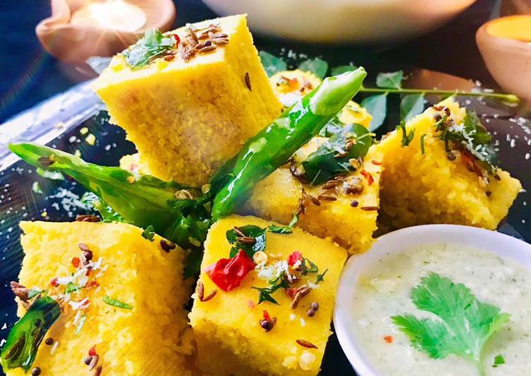 Recipe of Award-winning Dhokla / Khaman Dhokla