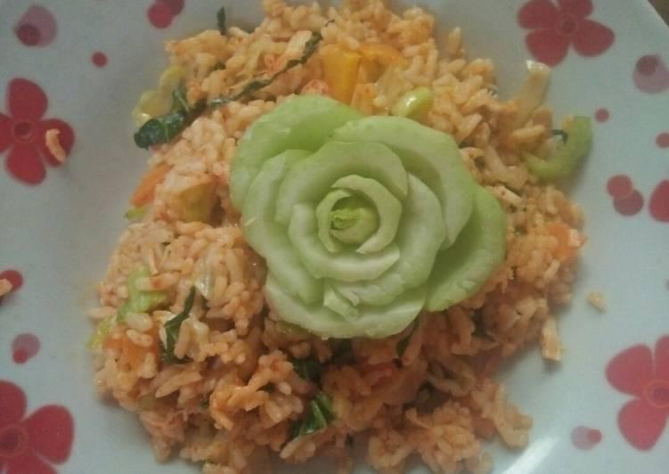 Nasi Goreng Sayur (Non MSG)