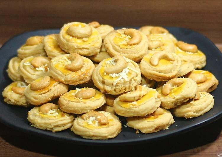 Kue Kacang simple ekonomis 👍(no oven&no mixer, takaran sendok)