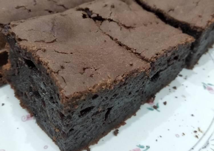 Brownies Mochi - cookandrecipe.com