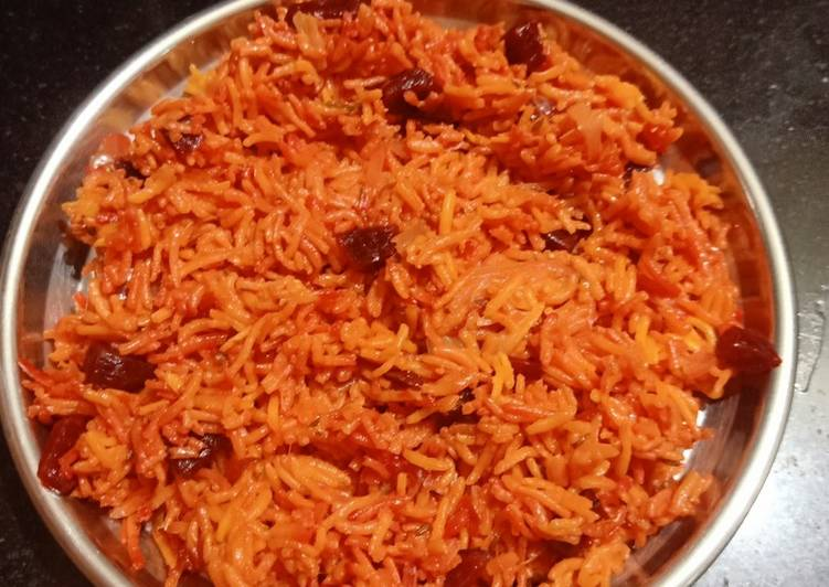Step-by-Step Guide to Prepare Favorite Beetroot Rice in pressure cooker
