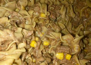 How to Make Yummy Nenas Creamy Beef N noodles